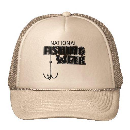 Semana nacional de la pesca gorro