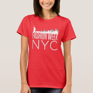Semana NYC de la moda Playera