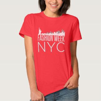 Semana NYC de la moda Playeras