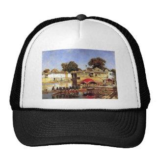 Semanas palacio y lago de Edwin en Sarket Ahmadaba Gorro De Camionero