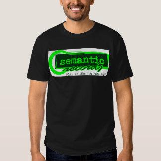 Semantic Records Tee Shirt