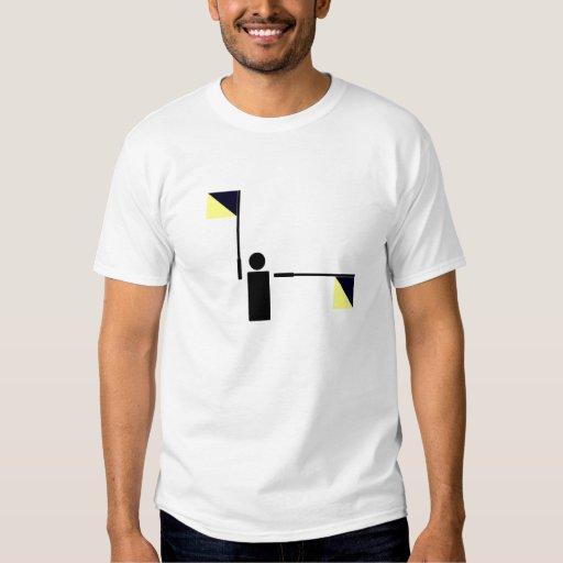 Semaphore - J T-Shirt