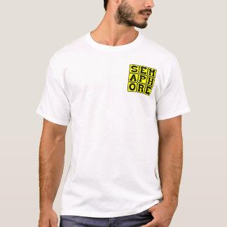 Semaphore, Mode of Wordless Communication T-Shirt