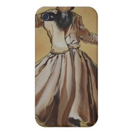 Semasen - Sufi Whirling Dervish iPhone 4/4S Case
