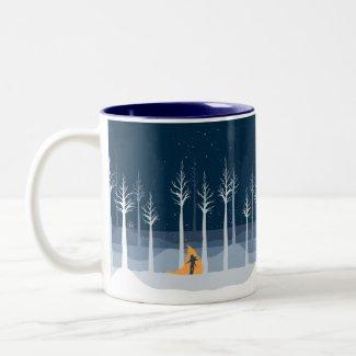 Sember Snowy Forest Mug