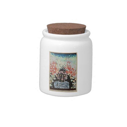 Semejanza de Paul Klee- en la glorieta Jarra Para Caramelo