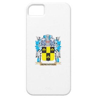 Semenovich Coat of Arms - Family Crest iPhone 5 Cases