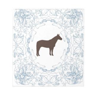 semental azul blocs de papel