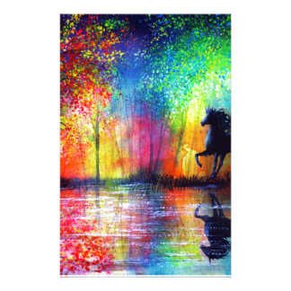 Semental del arco iris  papeleria de diseño