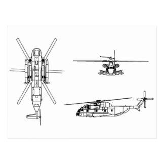 Semental del mar CH-53 Postal