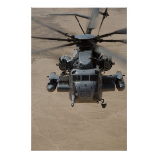 Semental estupendo de CH-53E Póster