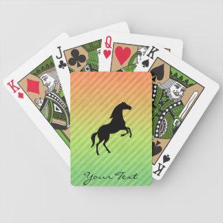 Semental negro cartas de juego
