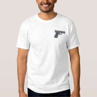 Semi-auto #4 embroidered T-Shirt