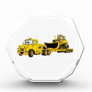 Semi Bulldozer Yellow Cartoon Award