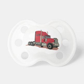 Semi camión chupete de bebé