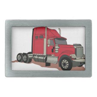 Semi camión hebillas de cinturón rectangulares
