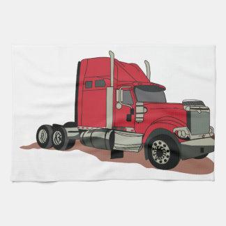Semi camión toalla