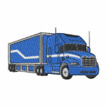 Semi camión y remolque