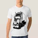 Semi camiseta del camión polera