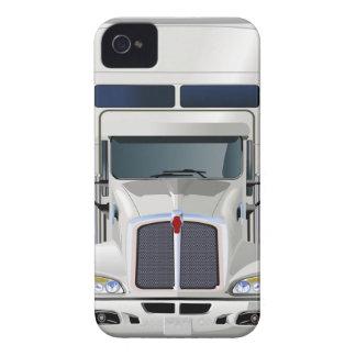 Semi cargo del camión iPhone 4 coberturas