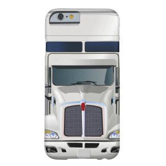 Semi caso del iPhone 6 del cargo del camión Funda De iPhone 6 Barely There