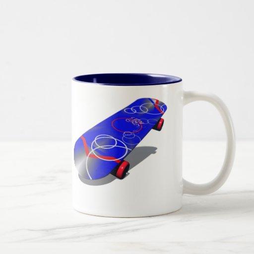 semi-circle 5 coffee mug