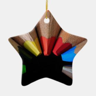 Semi Circle Pencils Ornaments