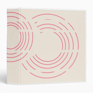Semi Circles Distraction Avery Binder