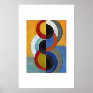 semi-circles poster