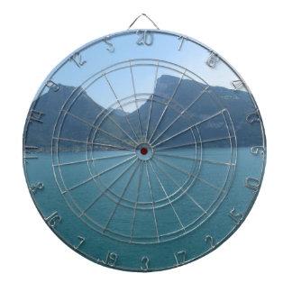 Semi-círculo entre 2 colinas en Suiza Tabla Dardos