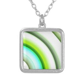 semi-círculos en el verde blanco creado por Tutti