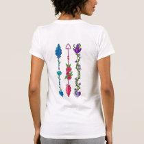 Semi Colon Arrows T-Shirt