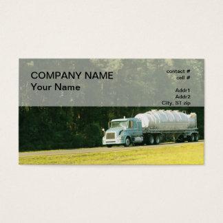 semi dry bulk trailer business card