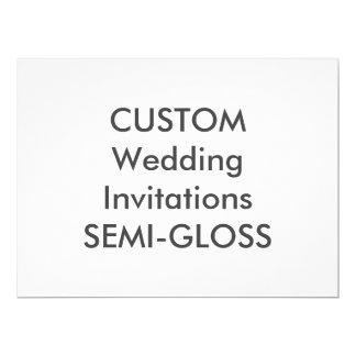 """SEMI-GLOSS 110lb 8.75"""" x 6.5"""" Wedding Invitations"""