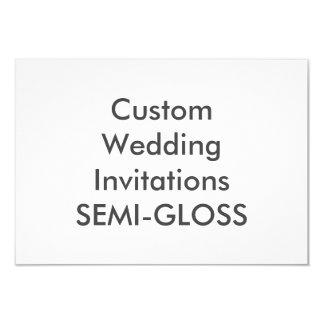"""SEMI-LUSTRE 5"""" x 3,5"""" invitaciones del boda Invitación 3.5"""" X 5"""""""