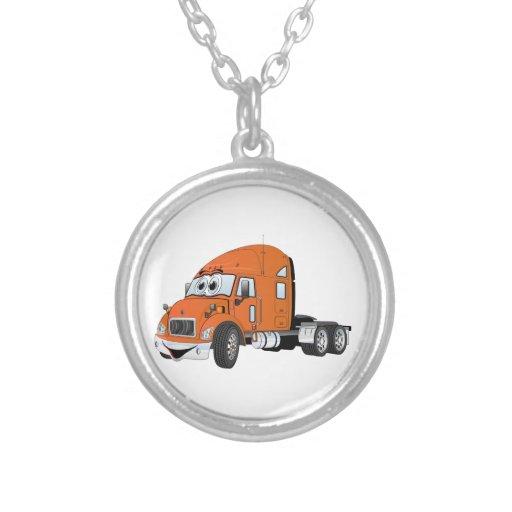 Semi naranja del taxi del camión colgante personalizado
