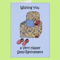 Semi-Retirement Congratulations Card