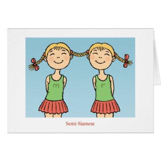 Semi-Siamese Card