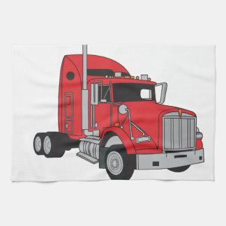 Semi taxi del camión toallas de cocina