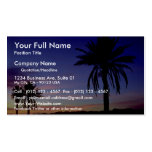 Semi-tropical landscape, Arizona, U.S.A. Business Card
