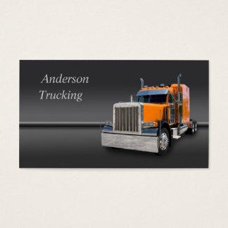 Semi Truck  Business Card