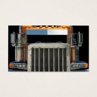 Semi Truck  Business Card. Business Card
