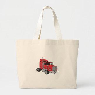 Semi Truck Cab Large Tote Bag