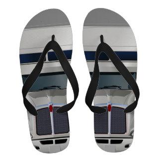 Semi Truck Cargo Flip Flops Sandals