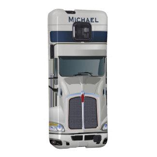 Semi Truck Cargo Samsung Galaxy Case Galaxy SII Cases