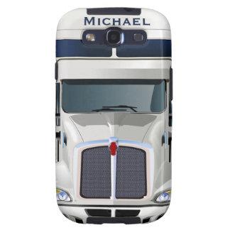 Semi Truck Cargo Samsung Galaxy Case