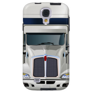 Semi Truck Cargo Samsung Galaxy S4 Case
