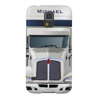 Semi Truck Cargo Samsung Galaxy S5 Case