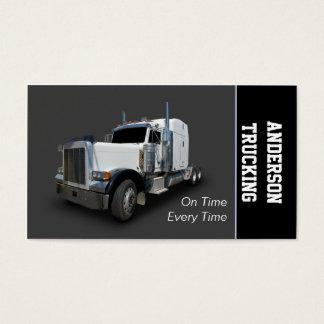 Semi Truck Delivery Company Business Card