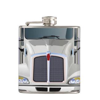Semi Truck Flask